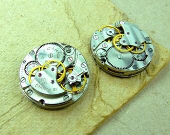 Vintage watch movements - set of 2 - c80