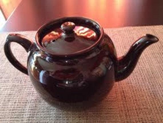 Vintage Teapot Sadler Brown