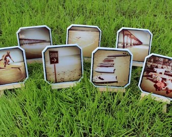 Beach Themed Coasters - Create a Set of 4