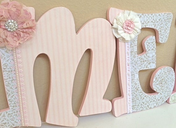 Nursery Decor Wooden Wall Letters : Unavailable listing on etsy