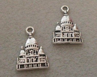 Silver Travel US Capital Building Charms