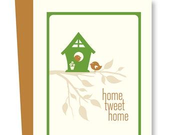 Home Tweet Home Blank Card