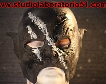 Orc mask in latex - Medium size