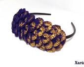 Vintage Gold Crocodile Headband