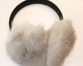 Recycled Fur Earmuff