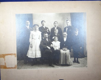 Vintage Family Photograph - Early 19th Century