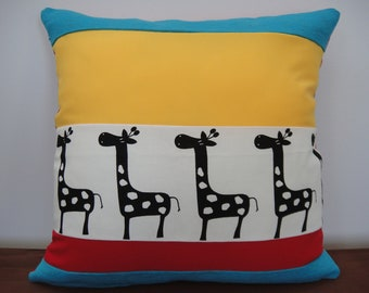 Safari Party Kids Cushion Cover 45 x 45cm