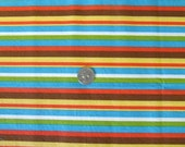 "Striped Eco-Friendly ""Un-paper"" Towel Roll -8 towels"