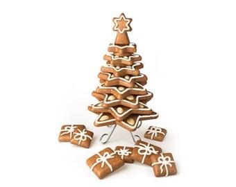 16 Pcs 3D Sugarcraft Cake Decoration Christmas Tree Cutter 631416