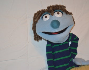 Blue Dude Hand Puppet