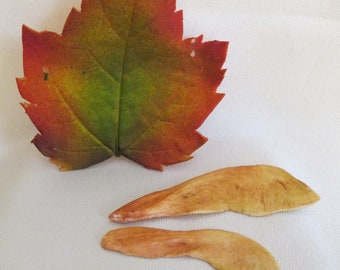 sugar edible leaves gumpaste fall colored cake topper wedding cake decorations