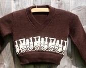 vintage child's jumper (sweater) - humanachievement