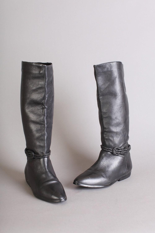 Innovative Franco Sarto Women39s Christie Riding Boot Black Leather C0031L1001