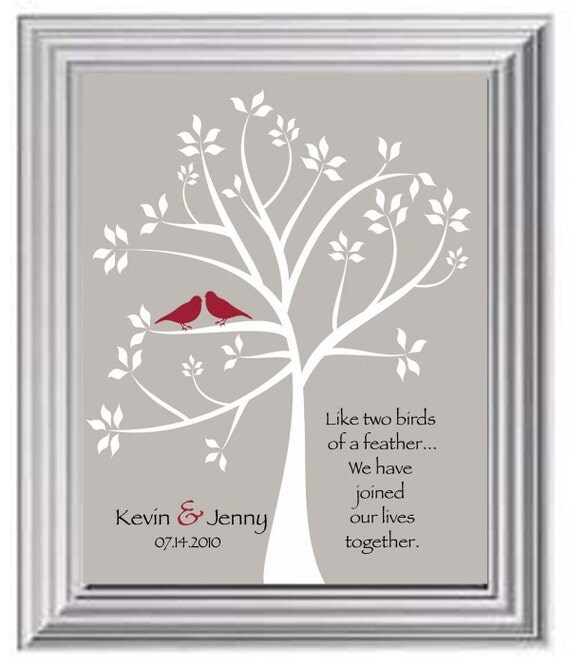 Valentines Day Gift Couples Names Print Wedding