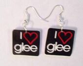 Glee Earrings- Glee TV show Earrings- I love glee