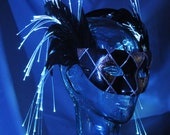 Sale: Fiber Optic, Feather Halloween Mask