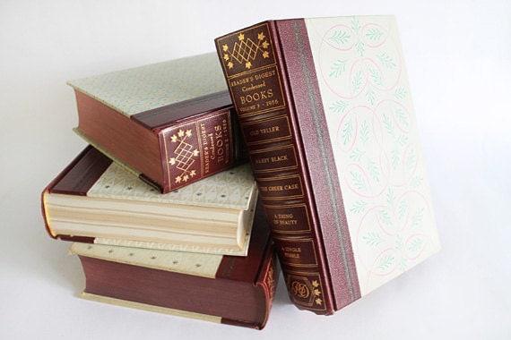 Vintage Readers Digest Condensed Volumes (Set of 4)