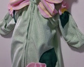 Baby, Infant Flower Cover Up, Cuddle/Minky Fabric, Fleece Petals, 1-3 months