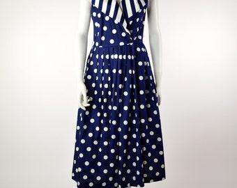 ON SALE POLKA-Dot Dress: 50s Style Dress // Rockabilly Dress // Pin-Up Dress // Betty Draper Dress // Bettie Paige Dress // Madmen