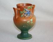 Vintage Roseville Columbine Vase: 150-6  on SALE