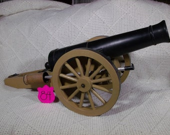 1960's Ideal Johnny Reb Civil War Cannon