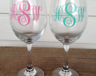 2x3 Personalized Monogram - Great wedding, shower, housewarming, birthday or Christmas gift - Apply them almost anywhere!