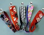 Day of the Dead Headbands - Skull and Skeleton Designs