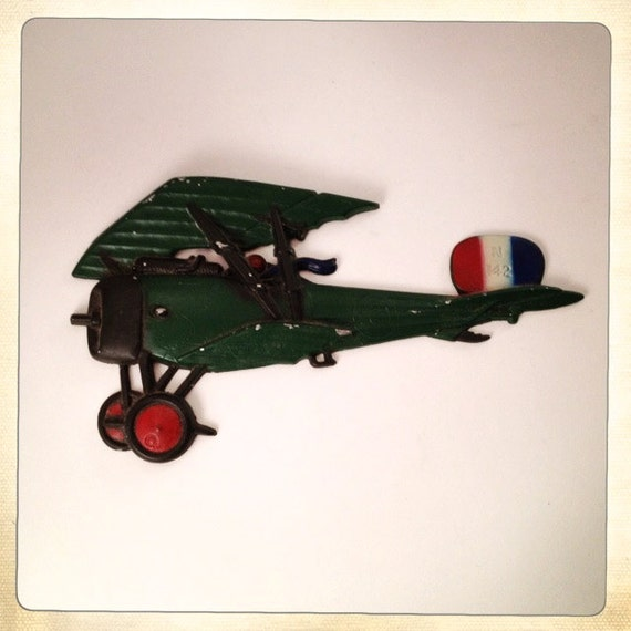 Vintage Metal Airplane Wall Decor Homco By Amysvintagedecorium