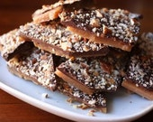 Buttery English toffee  1 lb.