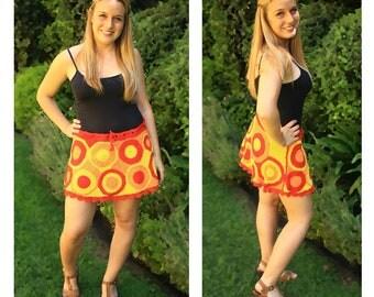 Crochet Circle Skirt
