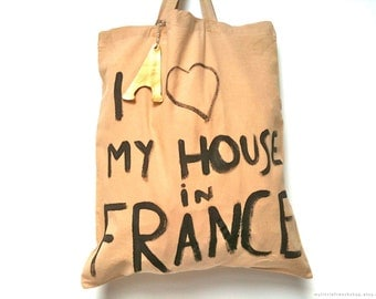 My House in France TOTE Bag / Eve Damon