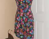 Late 60s floral dress ON SALE