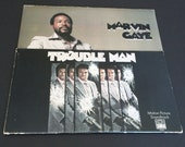 Marvin Gaye spectacular Trouble Man Soundtrack lp record above board blaxplotation