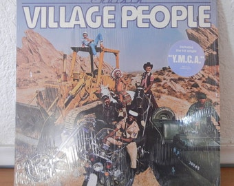 Village People Record - Cruisin - YMCA - Vintage Vinyl - 1970s