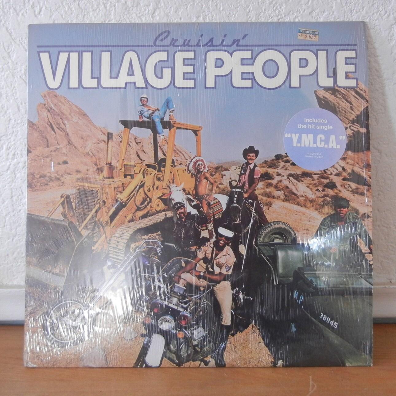 Village People Record Cruisin Ymca Vintage Vinyl 1970s