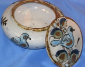 Vintage Ken Edwards El Palomar Small Covered Bowl