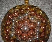 Round  Mandala style Etheric Energy Balancing Pendant