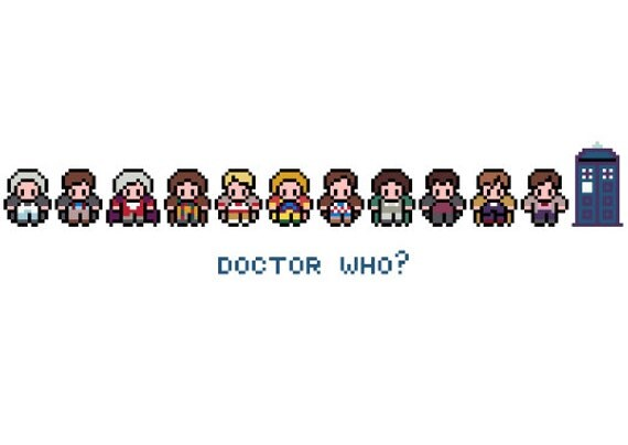 11 doctor who pixels