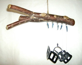 River Birch Branch and Climbing Buckles Chime