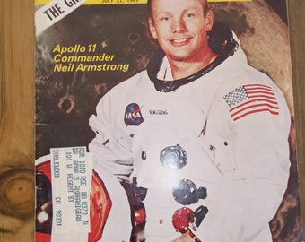 Newsweek Magazine 1969 Neil Armstrong Cover