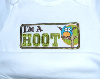 onesie for your little hoot