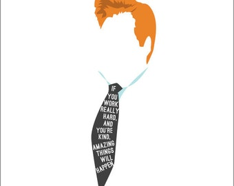 Conan O'brien Quote Print Team Coco