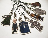 Doctor Who Phone Charms