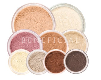12pc GET STARTED XL - Mineral Makeup Kit - Pure Natural Vegan Minerals Set