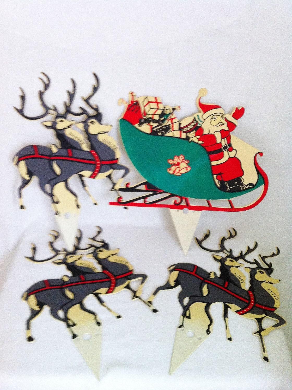 Vintage Christmas Lawn Decorations