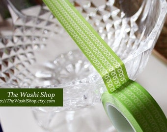Green Washi Tape