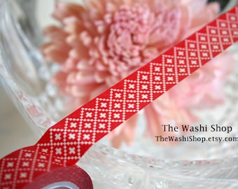 Red Washi Tape