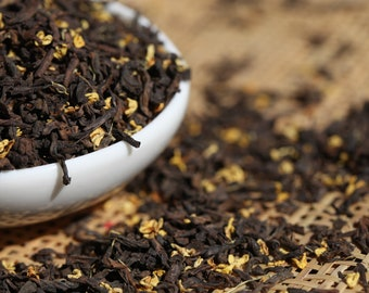 Pu-erh Tea - Osmanthus Pu-erh Loose Leaf Tea Premium Level NET 30 grams