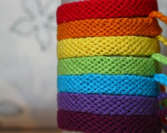Rainbow Week Friendship Bracelet, Rainbow Group Friendship Bracelet, Best Friends