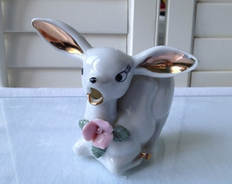Vintage Porcelain Deer Creamer/Pitcher